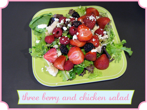 3 Berry Chicken Salad