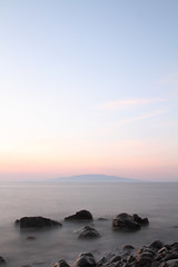 Anafi Seascape @ Santorini (Sybolt Engelsma / www.fieldsofdepth.com) Tags: santorini greece canonef2470mmf28lusm anafi canoneos7d syboltengelsma