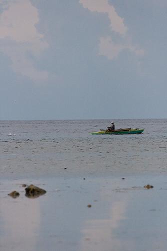 Fisherman in Sandugan