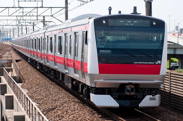 JR東日本 京葉線E233系5000番代ケヨ502編成 試運転