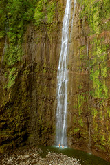 "Romance in Paradise (IronRodArt - Royce Bair (""Star Shooter"")) Tags: park travel wild summer vacation woman man green tourism nature wet water ecology pool beautiful beauty forest landscape flow outdoors hawaii waterfall couple stream paradise natural outdoor scenic maui drop falls fresh spray clean foliage national haleakala hana tropical environment leisure serene lush splash pure cascade tranquil waimoku waterscape purity"