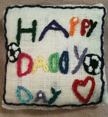 Owen's father's day gift, front