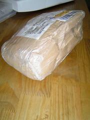 a chegada do pacote