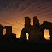 Sandal castle night shot - Bill Winder