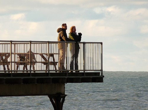 23680 - BBC Autumnwatch on Aber Pier