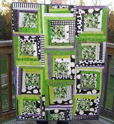panda charity quilt