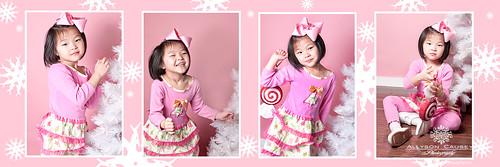 Pink Christmas W