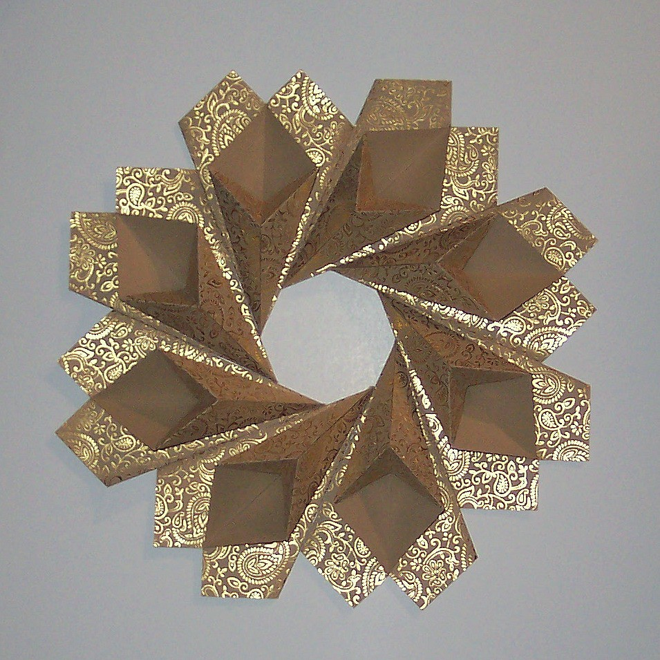 Gold Origami Paper