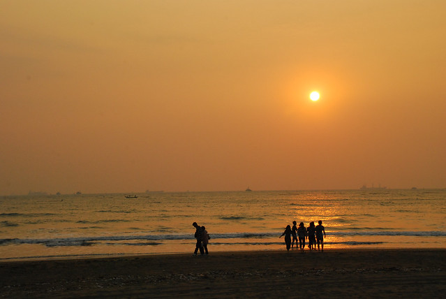 The beach at Anping