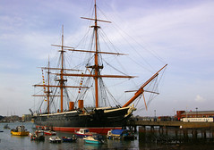 HMS Warrior 1860 (albireo2006) Tags: uk greatbritain sea wallpaper england wow harbor boat ship harbour britain background navy hampshire mooring portsmouth warrior warship royalnavy hmswarrior portsmouthhistoricdockyard historicdockyard kartpostal justpentax pentaxart