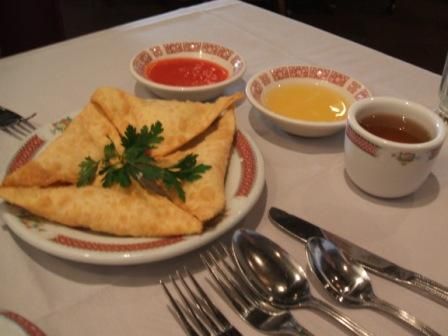 Shrimp rangoon