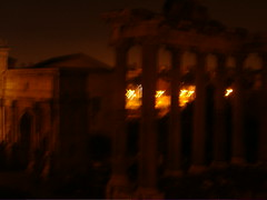 the forum (emilyjhryder) Tags: rome forum foriimperiali romebynight