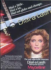 1970's Dial-a-Lash Mascara (twitchery) Tags: vintage eyelashes makeup 80s 70s mascara maybelline vintageads vintagebeauty
