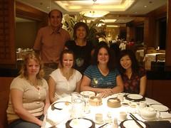 with larina's family