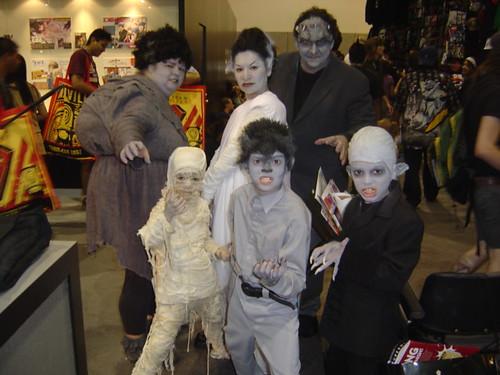 Family @ Comic-Con 2007