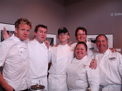 Group with Gordon Ramsey