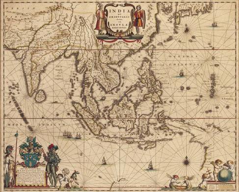 無限台南-台灣古地圖1635年-1