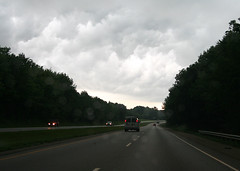 Photo of storms coming