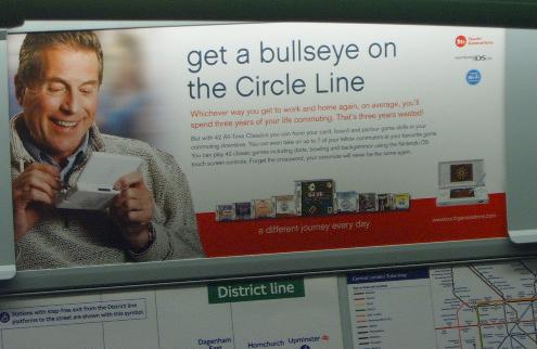 Ninetendo Circle Line Ad