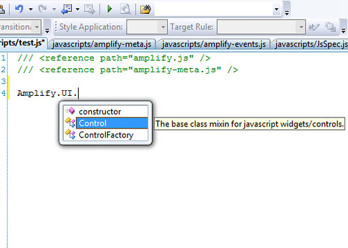 javascript intellisense as it should be