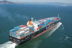 Hanjin Malta (Rob Bellinger) Tags: bridge port golden bay gate san francisco ship vessel malta container explore shipping hanjin explored