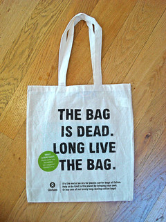 Oxfam cotton bag design concepts