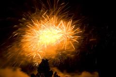 Edinburgh Festival fireworks 2007 11