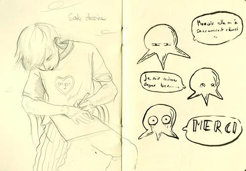 Saki dessine
