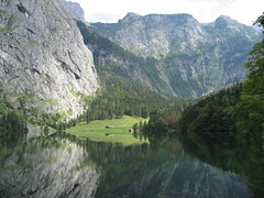 Obersee at Koenigssee