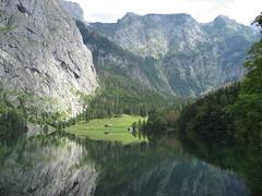 Königssee in der Nähe von Berchtesgaden