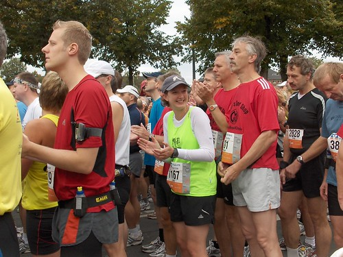 Cate Finishes Muenster Marathon