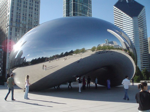 Giant Metal Bean