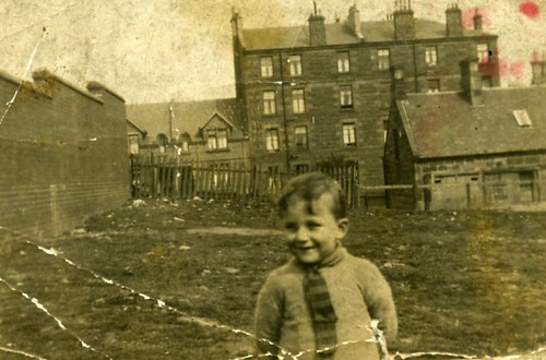 Back Court Dennistoun 1940s