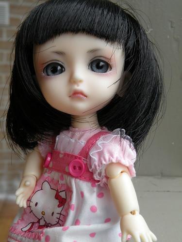 Brunette Tia