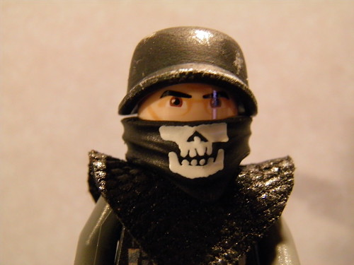Custom Lego Call of Duty Black Ops Ghost Soldier Face
