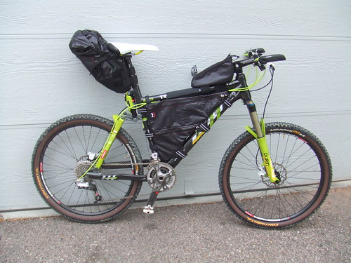 CTR bike with bags