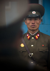 Watching you, watching me.. DMZ North Korea (Eric Lafforgue) Tags: soldier army war asia korea unitednations asie coree guerre northkorea armee dprk coreadelnorte gyeonggi panmunjeom 5321 nordkorea 38thparallel  militarydemarcationline   coreadelnord koreandemilitarizedzone   insidenorthkorea  rpdc  kimjongun coreiadonorte