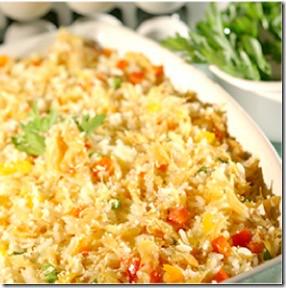 arroz de forno receita