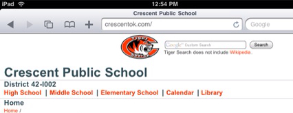 Tiger Search at Crescent PS