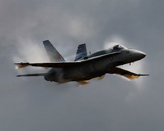 CF-18 (posterboy2007) Tags: fighter jet canadian vapour cf18