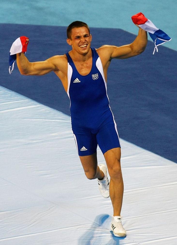 Wrestler Steeve Guenot