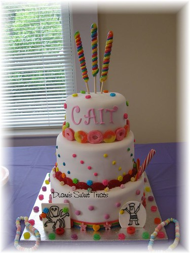 Cait's Sweet 16 - Candy Cake