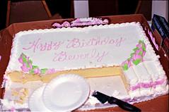 Full Moon Exotic Dancer Bar 13th Street Philadelphia Beverly Birthday Party 1994 001 Cake (photographer695) Tags: birthday street moon philadelphia bar dancer full exotic beverly 1985 13th
