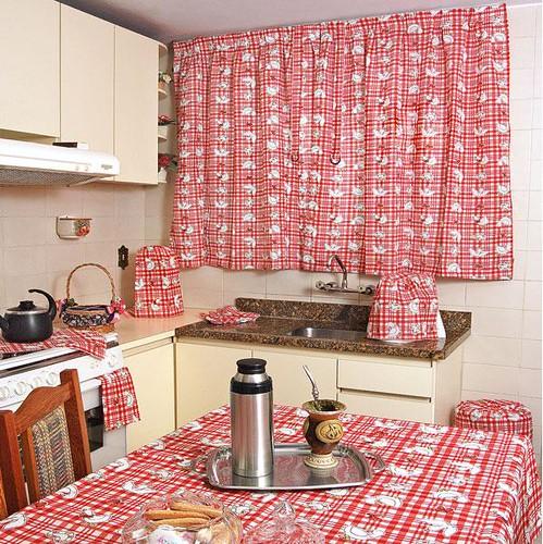 cortina na cozinha