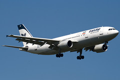 EP-IBB - 727 - Iran Air - Airbus A300B4-605R - 100617 - Heathrow - Steven Gray - IMG_4202