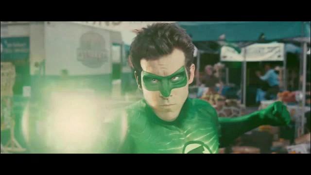 Linterna Verde escena Ryan Reynolds Hal Jordan