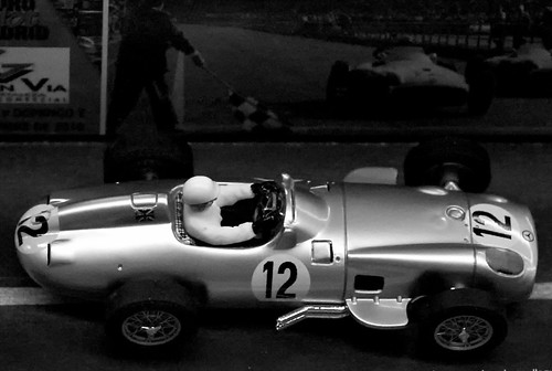 L9770175 - Mercedes W196 Stirling Moss British GP 1955