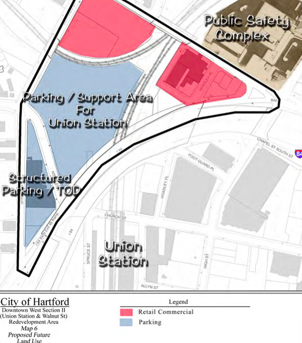 Downtown West section 2 redevelopment plan