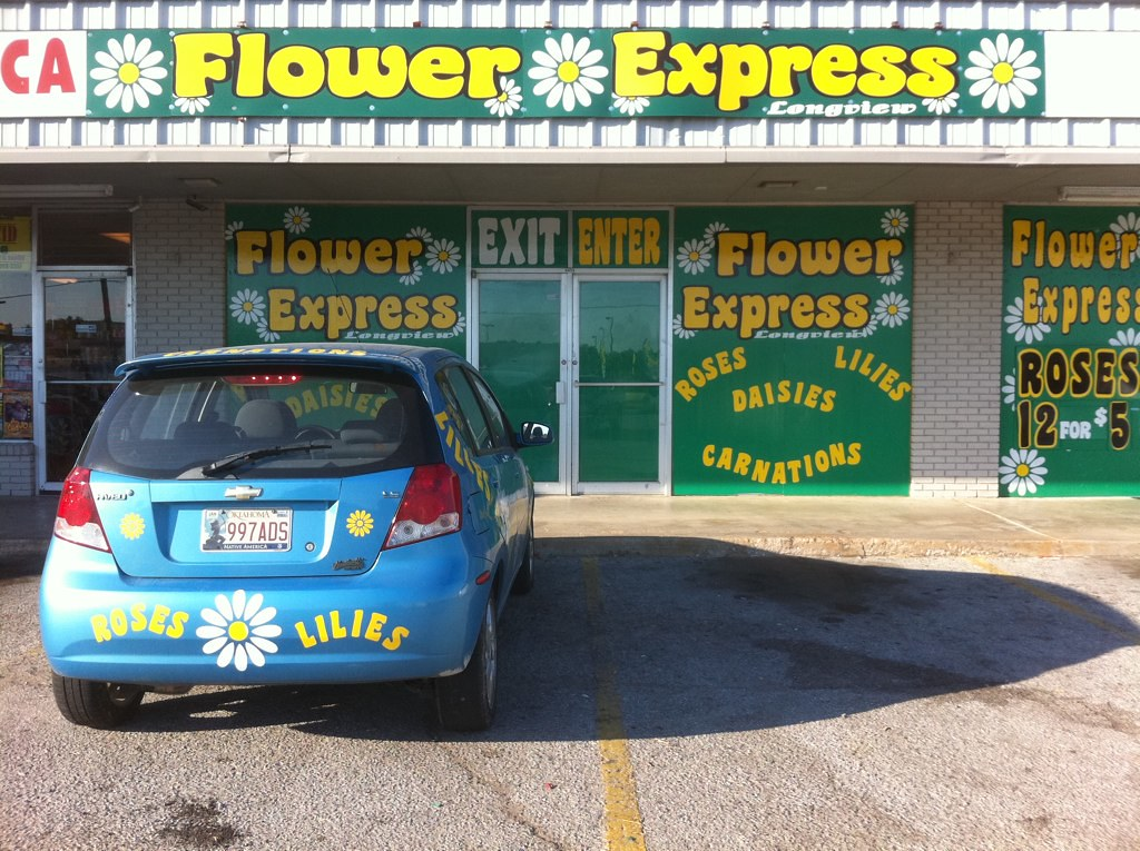 FLOWER EXPRESS DAISY CAR