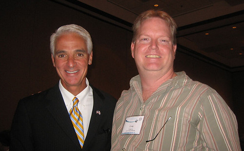Meeting Governor Charlie Crist